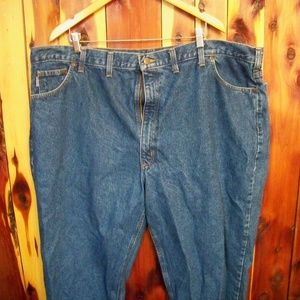 Preowned Carhartt Mens Jeans 48x32 B17-D8T
